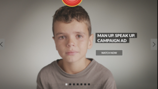 The ABC's Man Up series and Gus Worland's ad campaign.