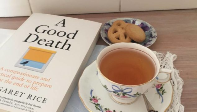 Tea and talk - at Collins Booksellers, Lawrence Hargrave Drive, Sunday November 3 from 2.30pm