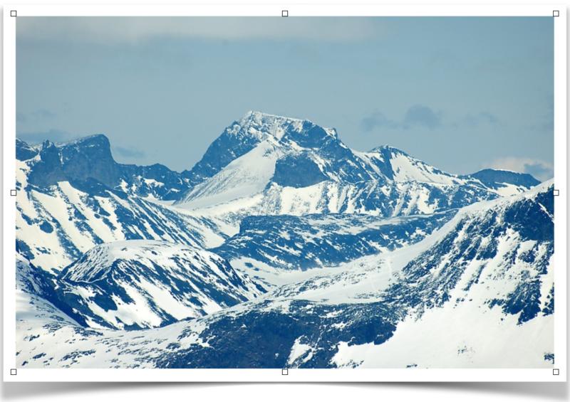 Galdhopiggen Mountain, photo by Havard Berland