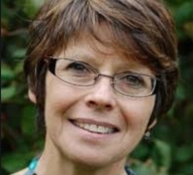 Avril Jackson - information officer for the European Association of Palliative Care, photo via LinkedIn