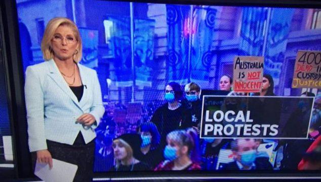 Australia is not Innocent - still from ABC News, Tuesday June 2.
