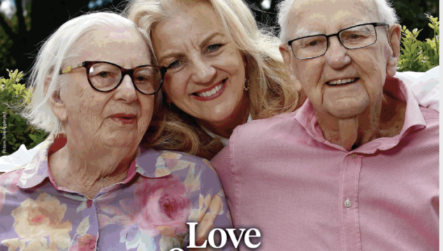 Love and trust, Jean Kittson on caring for her parents in a challenging time.