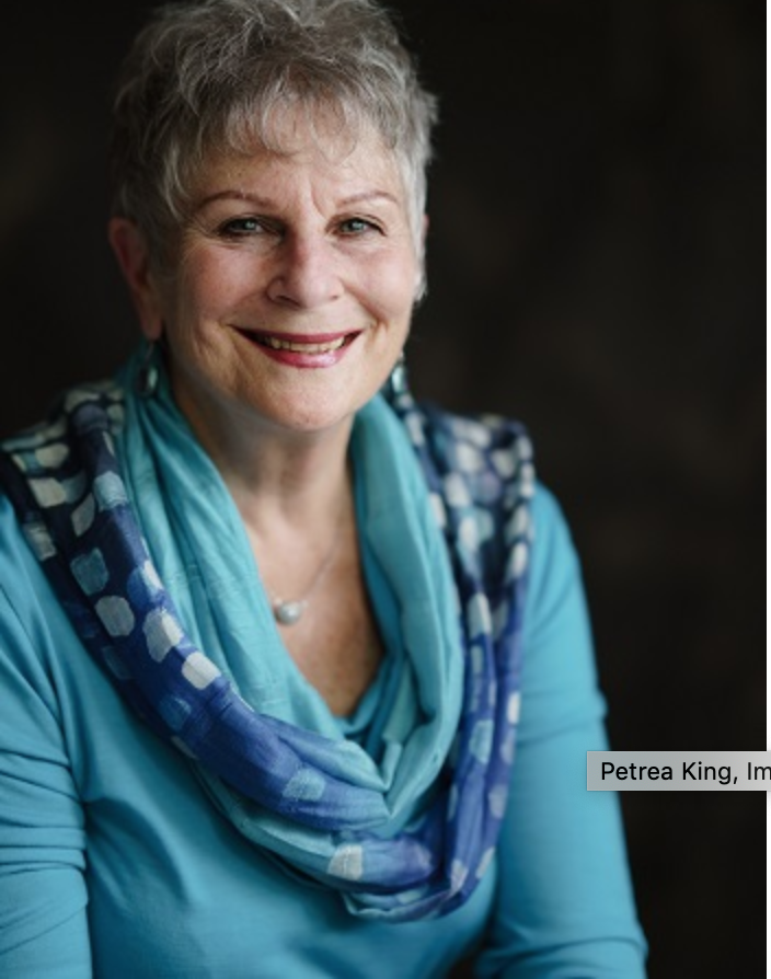 Photo of Petrea King by Ben Dearnley