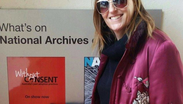 Sandra attended the Without Consent exhibition on forced adoption in 2015 at Canberra's National Gallery.