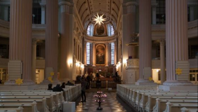 Photos of interior of St Nicholas Church Leipzig, by SonjaBo, Eric O and MichelM_Delft