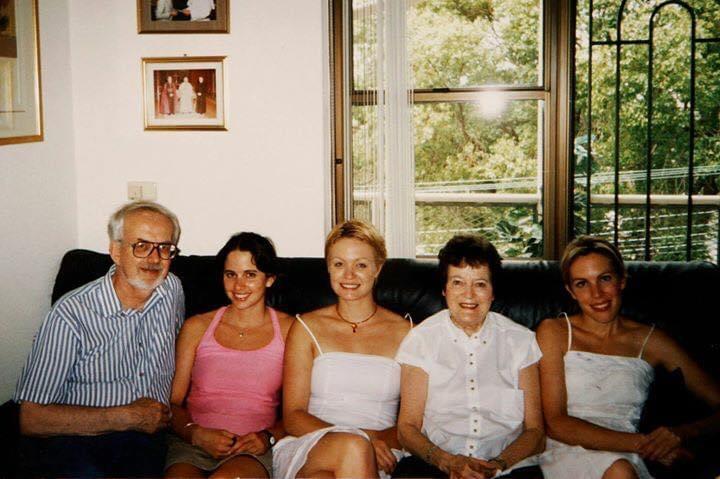Michael, Mairead, Sascha, Margaret and Siobhan